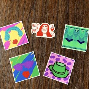 🔥 All 5 Stickers 🤩